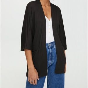 🍂 Wilfred Free by Aritzia Black Cardigan 🍂